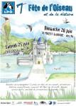 "Carte LPO ""Fête de l'Oiseau"" - Aquarelle - Mai 2011"