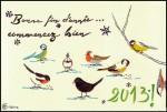 Voeux 2013 - Feutres - Décembre 2012