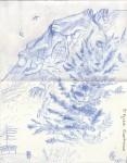 Chartreuse - Crayon bleu - Août 2013
