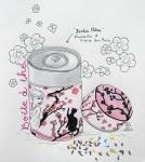 Contenant - Crayons de couleurs - Août 2013