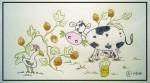 Quand les poules auront des dents - Crayons de couleur - Mars 2014