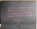 Liberté d'expression - Sonia - Janvier 2015