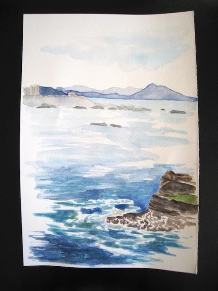 Aquarelle version 1 - Janvier 2016