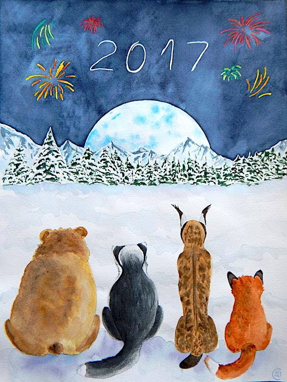 Voeux 2017 - Technique mixte - Janvier 2017