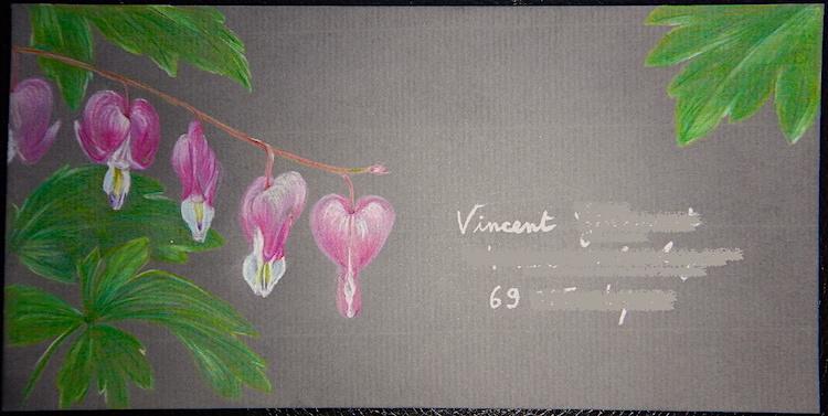 Coeur de Marie - Crayons de couleur - Juin 2017