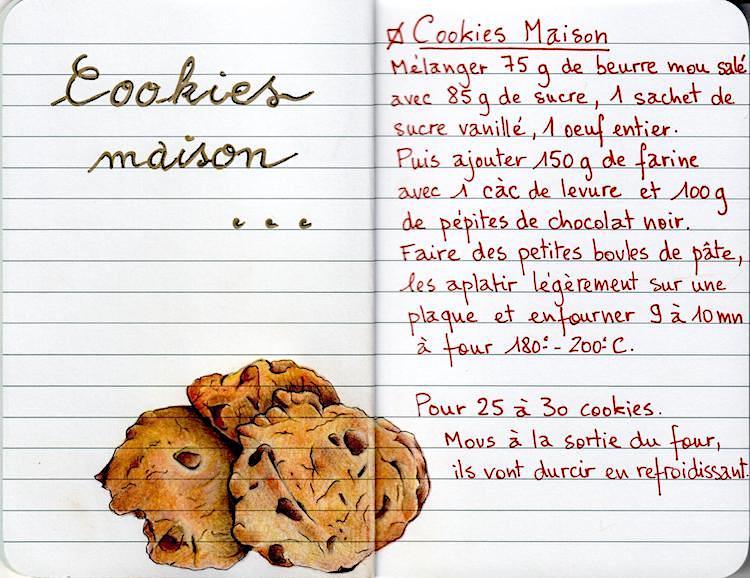 Cookies - Crayons de couleurs - Août 2018