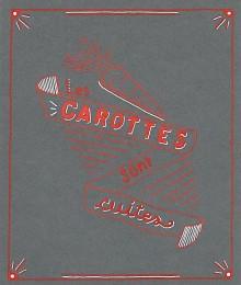 Carottes grises - Lettering - Juillet 2020